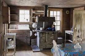 kitchen ideas fascinating modern log cabin interior design also