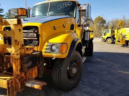 100 Truck With Snow Plow For Sale 2006 Mack Granite CV712 Wing Sander Dump Truck 82643 Miles Lebanon ME 2072 MyLittlesmancom