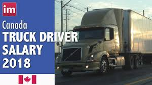 100 Cdl Truck Driver Salary In Canada 2018 Wages In Canada YouTube