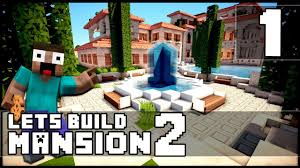minecraft how to make a mansion part 1 youtube