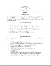 Best Ideas Of Motorcycle Mechanic Resume Examples Wonderful Automotive Sample To Write An