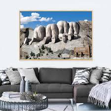 leinwand drucke humor reise klettern berg amerika kunst poster wand bilder für wohnzimmer kaffee wand kunst wohnkultur