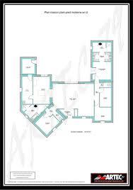 bien plan garage ossature bois toit plat 11 maison en u plan de