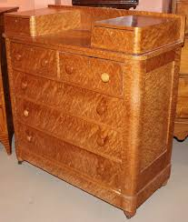 Birdseye Maple Highboy Dresser by 19th C Birdseye Maple Chest Of Drawers With Glove Boxes At 1stdibs