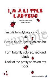 Ladybug Poems For Kids