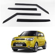 KD KIA SOUL Smoke Window Vent Sun Visors Rain Guards 2014 - 2017 Out ... How To Install Rain Guards Inchannel And Stickon Weathertech Side Window Deflectors In Stock Avs Color Match Low Profile Oem Style Visors Cc Car Worx Visor For 20151617 Toyota Camry Wv Amazoncom Black Horse 140660 Smoke Guard 4 Pack Automotive Lund Intertional Products Ventvisors And 2014 Jeep Patriot Cars Sun Wind Deflector For Subaru Outback Tapeon Outsidemount Shades Front Door Best Of Where To Find Vent 2015 2016 2017 Set Of 4pcs 1418 Silverado Sierra Crew Cab Shade