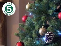 8ft Artificial Christmas Trees Uk by Best Artificial Tm 7ft Premium Real Feel Hinged Christmas Tree