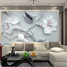Custom 3D Photo Wallpaper For Living Room Painting Bedroom Pertaining To Wall Art Paintings
