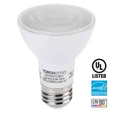 torchstar location dimmable par20 led light bulb 8 5w 50w