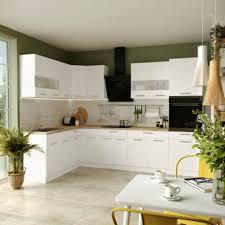 küche l form alina mit hochschrank küchenzeile einbauküche neu