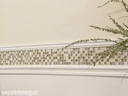 how to miter hollow porcelain chair rail ceramic tile advice