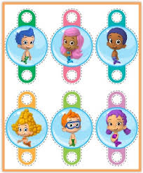 Bubble Guppies Cake Toppers by Free Printables Bubble Guppies Jello Recipe And Nickelodeon Kids