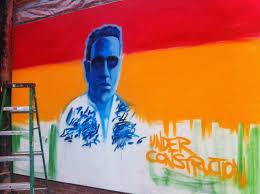 Joe Strummer Mural New York City by Slum Goddess A Life Of Lunacy September 2013
