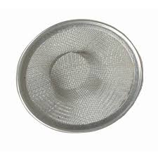 large stainless steel mesh sink strainer 4 1 2