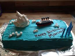 Minecraft Titanic Sinking Animation by Titanic Birthday Cake Food Pinterest Titanic Birthday
