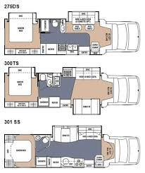 C Floor Plans by Coachmen Concord Class C Motorhome Floorplans Large Picture