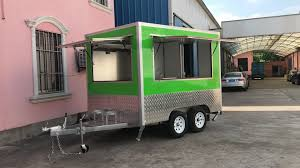 Pizza Ice Cream Halal Food Concession Truck Trailer For Sale - Buy ...