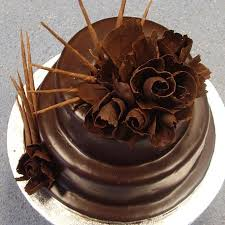 Yummy Chocolate birthday cake pic share it with ur friends MY FB