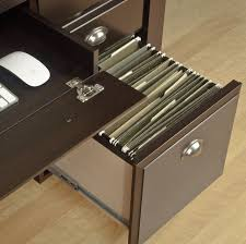 Shoal Creek Desk With Hutch by Sauder Shoal Creek Executive Desk Diamond Ash Best Home