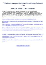 Vrbo.com Coupons By Jimmy Cobalt - Issuu