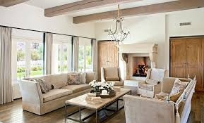 Rustic Fireplace Mantels Living Room Traditional With Beige Armchair Sofa1 Image By Palm Design Group