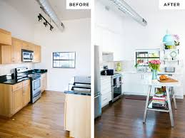 100 Townhouse Renovation Final Reveal Kitchen Before After Kitchen