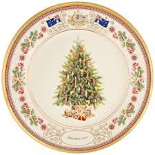 Lenox 2017 Trees Around The World Collector Plate