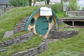 wooden wonders u0027 hobbit holes bring the magic of middle earth to