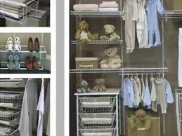 organize closet with wire shelving
