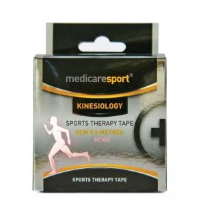 Medicare Sport Kinesiology Therapy Tape - Beige
