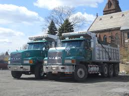 100 Tri Axle Dump Trucks Mack CH Chris Flickr