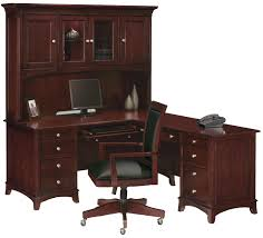 furniture l shaped computer desk with hutch and swivel chairs