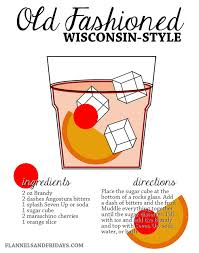 Wisconsin Style Brandy Old Fashioned Recipe