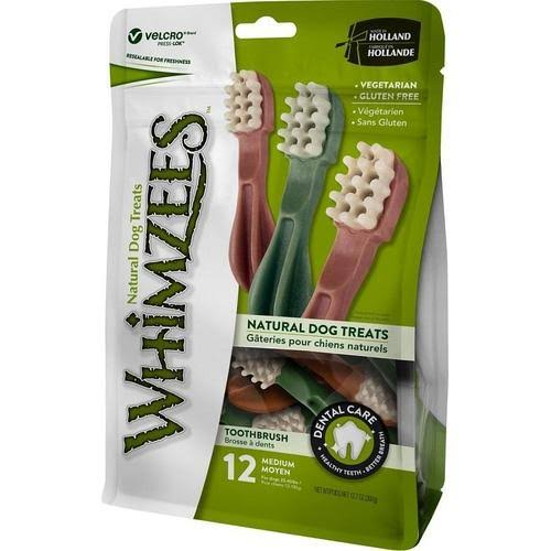 Whimzees Toothbrush Dental Dog Treats
