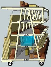 Cord Wood Storage Rack Plans by Rolling Wood Storage Rack By Rance Lumberjocks Com