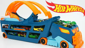 Hot Wheels Stunt & Go Hauler Truck Race Track Launch Cars Storage ... Hot Wheels Trackin Trucks Speed Hauler Toy Review Youtube Stunt Go Truck Mattel Employee 1999 Christmas Car 56 Ford Panel Monster Jam 124 Diecast Vehicle Assorted Big W 2016 Hualinator Tow Truck End 2172018 515 Am Mega Gotta Ckc09 Blocks Bloks Baja Bone Shaker Rad Newsletter Dairy Delivery 58mm 2012 With Giant Grave Digger Trend Legends This History Of The Walmart Exclusive Pickup Series Is A Must And