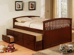 king captains bed full image for white double bed with bookcase