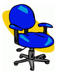 Office Chair Clip Art Illustrations