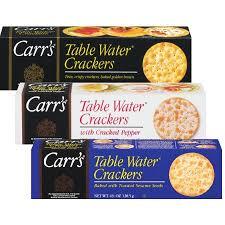 table carr cuisine carr s table water cracker selection 25 5 ounce walmart com