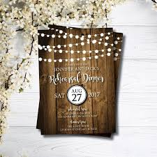 Rehearsal Dinner Invitation Formal Invitations Rustic Barn Wedding Printable Invites