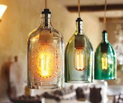 DIY Vintage Seltzer Bottle Pendant Lights