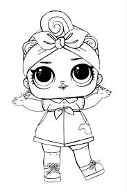Lol Surprise Doll Coloring Pages Page 10 Color Your Favorite I Love You Baby New Free