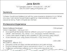 Qualification Summary On Resume Examples With Of For Skills Section Profile