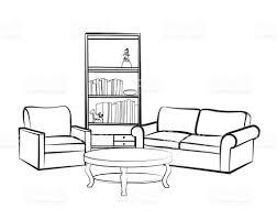 Living Room Clipart Black And White • White Bedroom Design