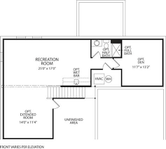 Drees Homes Floor Plans by Quentin At Clover Ridge Frederick Md