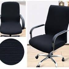 S Size Comfortable Flexible Stretchy Office Computer Armchair Seat ... Stretchy Chair Covers Best Home Decoration Btsky New High Back Office For Computer Subrtex Square Knit Stretch Ding Room 4pcs Cover Elastic Trade Me 160gsm Gold Spandex Banquet Tablecloths Floral Sure Fit Wing Slipcovers Of White Wingback Chair Black Your Inc Geometric Pattern Upholstery Easyfit Carolwrightgiftscom Red