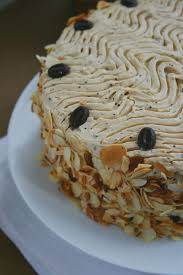 le moka layer cake ou gâteau à étages au café