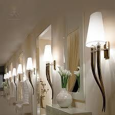 gold chrom moderne wandleuchte für schlafzimmer wandleuchte le mit schatten retro wandleuchten wandleuchte schwarz stoff shades