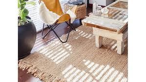 lässige naturfaser teppiche handgearbeitet mit jute wolle