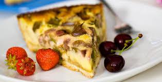 rhabarber kuchen schnell einfach zubereitet liebherr